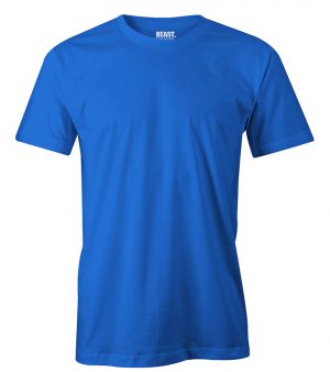 mens crew-neck plain t shirt carbon blue sri lanka