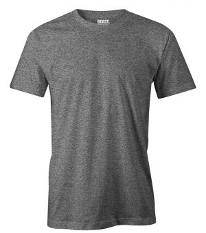 mens crew-neck plain t shirt charcoal grey sri lanka