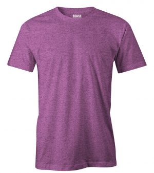 mens crew-neck plain t shirt deep purple sri lanka