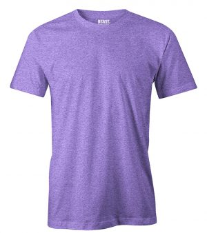 mens crew-neck plain t shirt purple orchid sri lanka