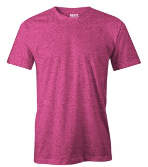 mens crew-neck plain t shirt raspberry red sri lanka