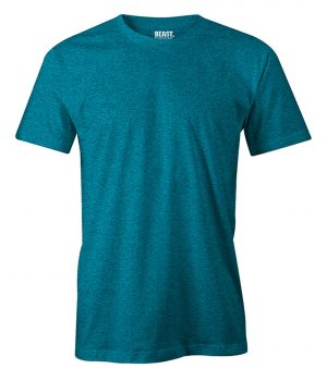 mens crew-neck plain t shirt sea green sri lanka