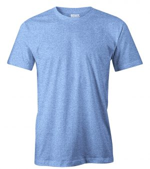 mens crew-neck plain t shirt sky blue sri lanka