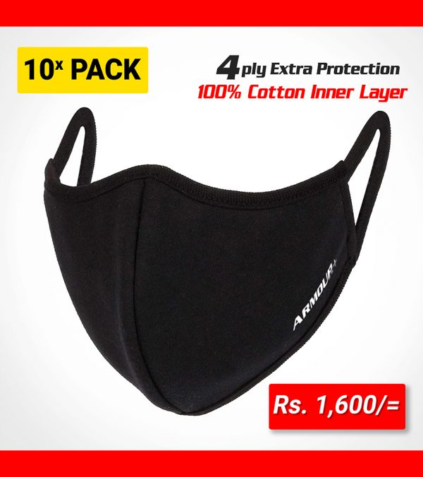 Armour+ Reusable Face Mask 10 Pack sri lanka