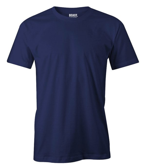 mens crewneck plain t shirt navy blue sri lanka