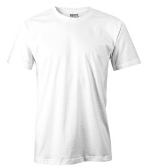 mens crew-neck plain t shirt white sri lanka