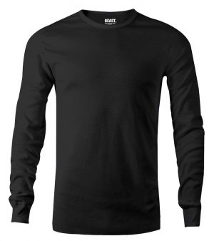 mens long sleeve t shirt black sri lanka