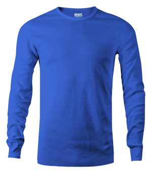 mens long sleeve t shirt carbon blue sri lanka