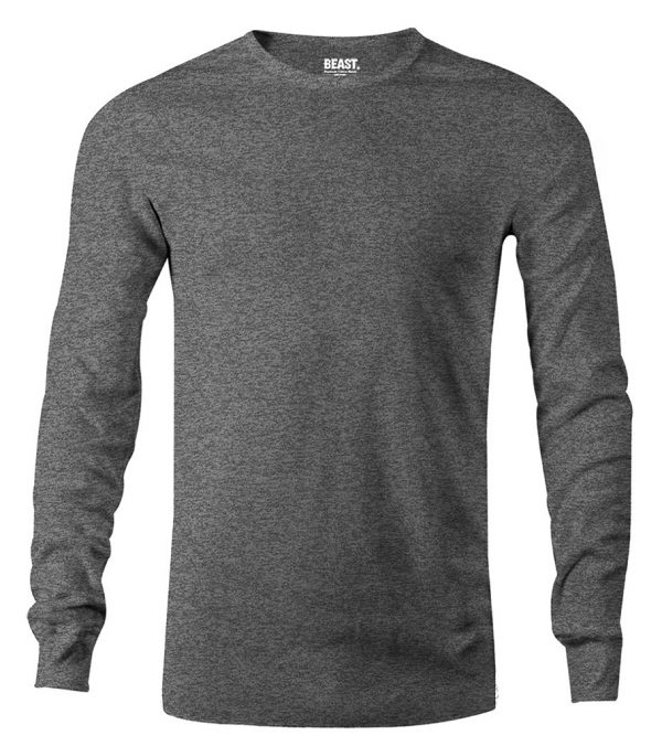 mens long sleeve t shirt charcoal grey sri lanka