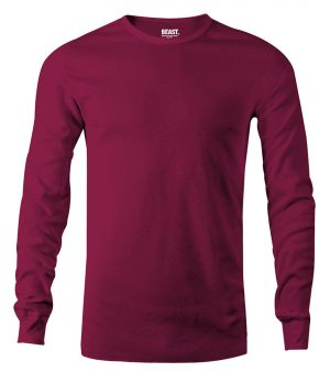 mens long sleeve t shirt maroon sri lanka