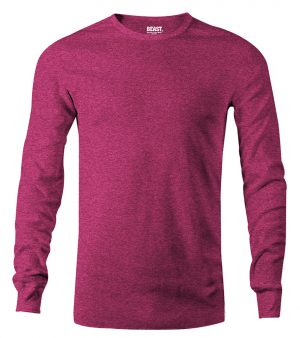 mens long sleeve t shirt raspberry red sri lanka