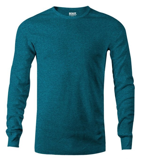 mens long sleeve t shirt sea green sri lanka