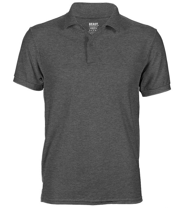 mens polo t shirt charcoal grey sri lanka