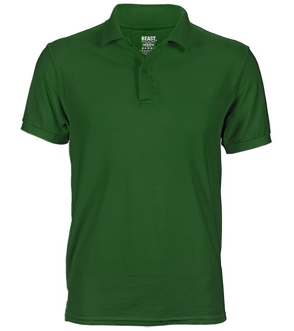mens polo t shirt forest green sri lanka